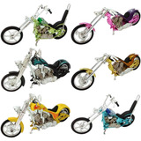 Miniaturas Motos Chopper Customizadas Personalizada Kit C/ 6