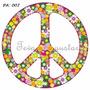 Vinilos Decorativos Para Azulejos Simbolo De Paz Pack X 12