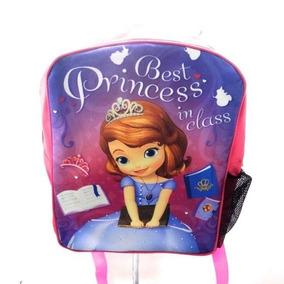 Morral Tipo Princesa Sofia Sophia Disney Descendientes Bulto