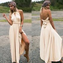 Vestido Convertible Importado Largo Fuestas Casamientos Even