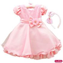 Vestido Gata Gatinha Marie Princesa Peppa Infantil Com Tiara