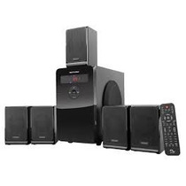 Caixa De Som Multilaser Sp160 Home Theater 5.1 Canais 100w