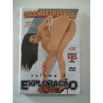 Brasileirinhas - Dvd Exploração Anal Vol. 3 - Raro!!!!