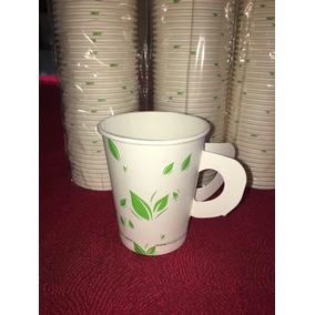 Vaso Para Café Biodegradable De Papel Con Asa 8 Oz