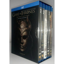 Game Of Thrones Juego De Tronos Temporadas 1 - 5 Set Blu-ray