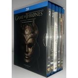 Game Of Thrones Juego De Tronos Temporadas 1 - 5 Set Blu-ray