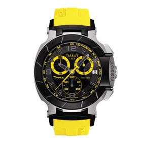 Reloj Tissot T-race T048.417.27.057.03 Acero Correa Amarilla