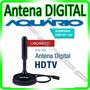 Antena Interna Tv Digital Hdtv Dtv 100 Aquario * Com N F *