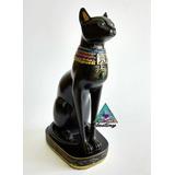 Bastet Dios Egipcio Gato - Figura De Resina