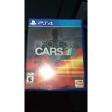 Project Cars Ps4 (como Nuevo)