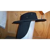 Sombrero Con Capucha Cubre Nuca En Gabardina