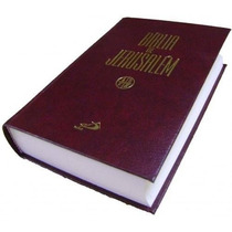 Bíblia De Jerusalém - Católica Capa Dura