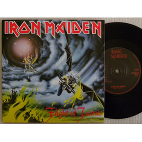 Iron Maiden Flight Of Icarus Compacto Made In England 2014 +