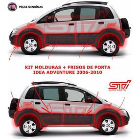 Kit Completo 8 Frisos + Molduras Fiat Idea Adventure 06-10