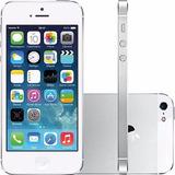 Iphone 5 32gb Original Garantia Nf+capa+película De Vidro