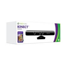 Sensor Kinect Xbox 360 Com Jogo Adventures Na Caixa Original