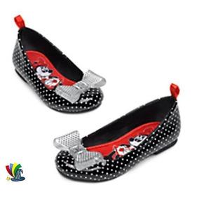 Zapatos Flats Mimi Minnie Mouse 100% Original Disney Store