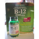 Vitamina B12 Sublingual De 2500 Mcg - Marca: Natures Bounty