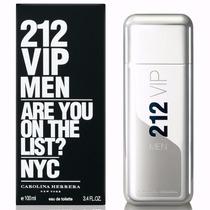 Perfume Original Carolina Herrera -- 212 Vip Men -- Hombre