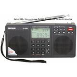 Tecsun Pl398bt Dsp Radio De Onda Corta Am / Fm / Lw Digital