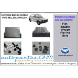 Kit Paneles Clips Bandeja Luneta Complet Fiat 147 Vivace+reg
