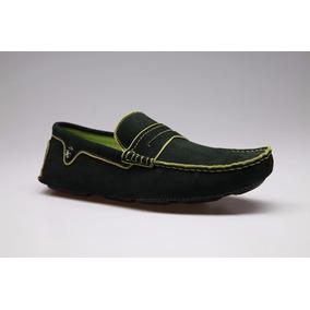 Zapato Importados De Cuero Gamuza Ash48