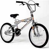 Bicicleta Rodado 20 Freestyle Halley 16300 Cromada V-brake