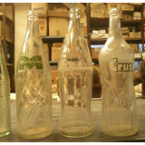 Antigua Botella Gaseosa Mirinda, Logos De Diferente Tamaño