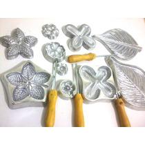Frisador Flores Em Eva Apostila Kit Frisadores Aluminio