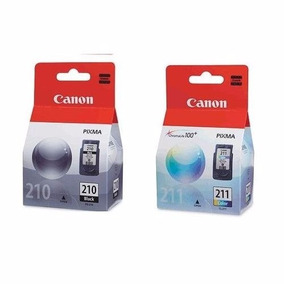 Kit 2 Cartuchos Canon Pixma Pg210 Cl211 Para Mp280 Mp230
