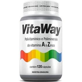 Polivitamínico A Z Vitaway - Fitoway® 120 Cáps
