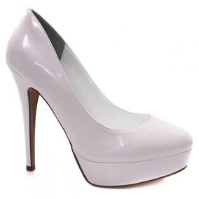 Sapato De Noiva Branco Verniz Zariff Shoes