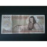 Billete 1000 Pesos Sor Juana 1985