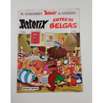 Asterix - Entre Os Belgas - Editora Record - Número 24