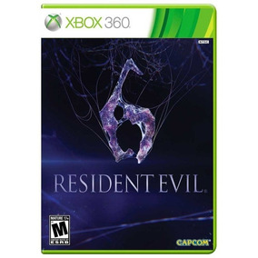 Resident Evil 6 Xbox 360 - Mídia Física