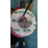 Rollos De Cables 100% Cobre Numeros, 6 #8 Nacional Importad