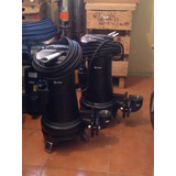 Bomba Sumergible Aguas Negras Espa 501 5hp, 230 V Trifasica.