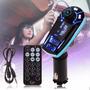 Transmisor Fm Con Bluetooth + Slot Sdcard + Usb Para Carro
