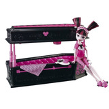 Muñeca Monster High Cama Monstruosa De Draculaura E4f
