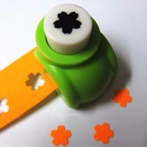 Mini Furador - Coração - Estrela - Flor P/ Papel E Cartões
