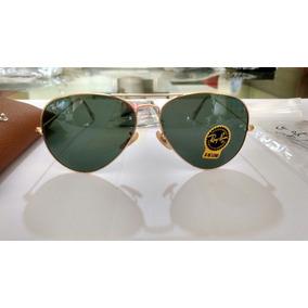 a5024bf8c1bc1 Oculos Ray Ban Aviador 3026 Aro Preto Lentes Vd - Óculos no Mercado ...