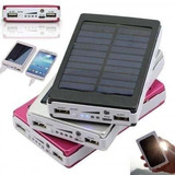 Cargador Solar 20000mah Bateria Linterna Led Providencia