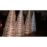 1 Árbol De Navidad De Diseñador Hecho De Ramas Secas. S/uso.