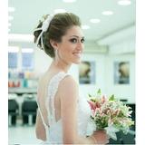 Tiara De Fita Para Noiva Arranjo Flor De Cabelo Branca