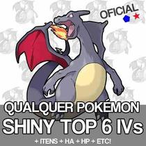 Pokemon 3ds Sun Moon Y X Omega Shiny 5/6iv Promoçâo + Brinde