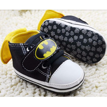 Sapato Tenis De Bebe All Star Batman Importado