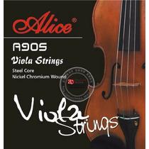 Juego De Cuerdas Para Viola Alice A905