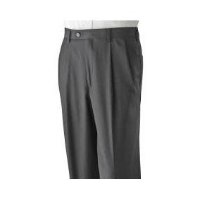 Finisimos Pantalon De Vestir Axist Tallas Extras 42x30 Gris