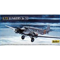 Avião Ju-52 Heller 1/72 Kit Tipo Revell E Tamiya
