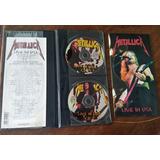 Metallica Live In Usa 94 2cd Estuche De Cuero Banzai Slayer